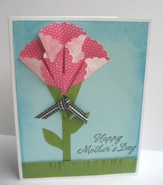 Mothers Day Card Origami Flower For More Information Chec Flickr