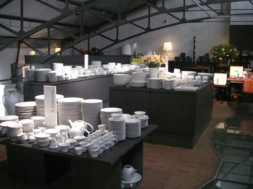 berlin outlet store at kpm porcelain manufacture germa. Black Bedroom Furniture Sets. Home Design Ideas