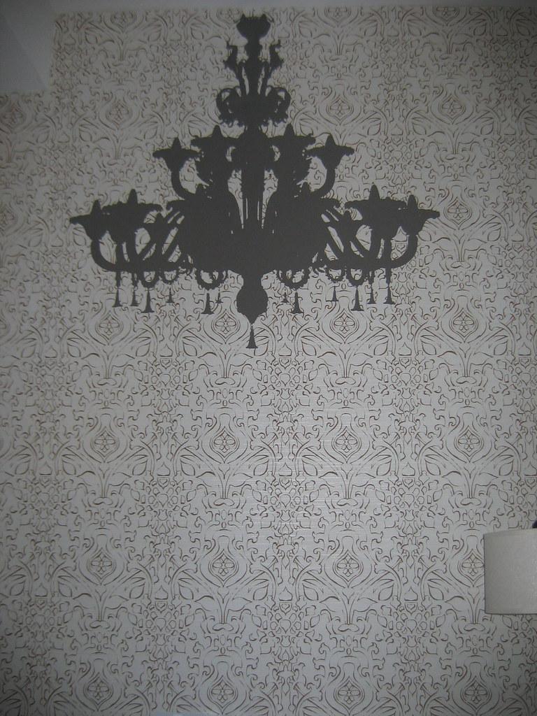 Fake chandelier wallpaper erin flickr fake chandelier wallpaper by emodra fake chandelier wallpaper by emodra arubaitofo Images