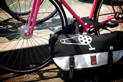 Ines's Fixie & BFF Chrome Bag | by Gary Rides Bikes