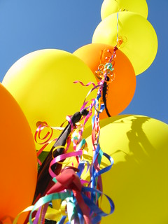Birthday Balloons | by Camera Obscurist