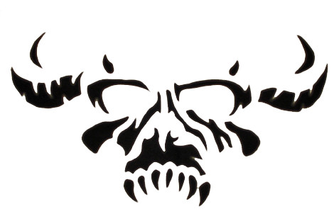 The Misfits Skull Logo DANZIG | Hand-made, Ca...