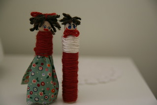 peg dolls | by red felt flower
