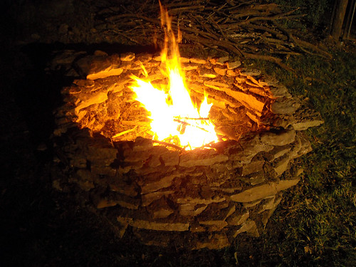 Backyard Firepit - 4 October 2008 | by Marion Doss