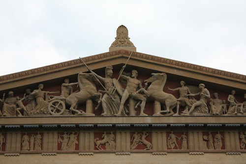 parthenon frieze from the reconstructed frieze on the