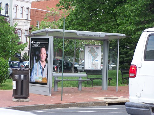 DC bus shelter