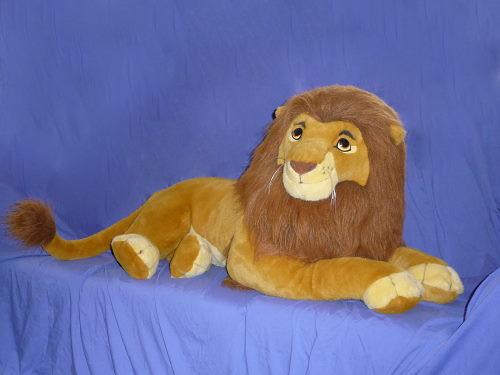 Lion King Life Size Adult Simba Plush By Douglas Cuddle Flickr