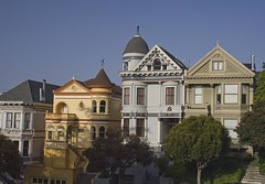 The Victorian Houses in Alamo Square | by jonclark2000