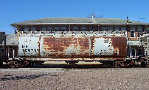 MP Cylindrical Covered Hopper Car | by Mo-Pump
