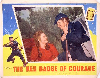 the tattered soldier in the novel the red badge of courage by stephen crane Read chapter 10 of the red badge of courage by stephen crane the text begins: the tattered man stood musing well, he was a reg'lar jim-dandy fer nerve, wa'n't he, said he finally in a little awestruck voice.