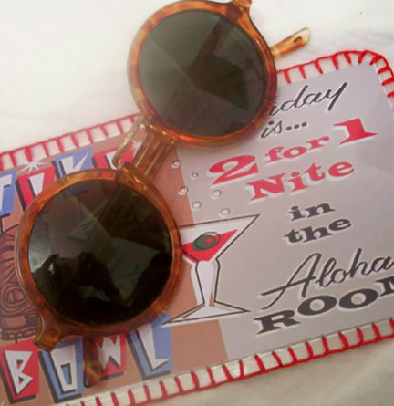 Vintage sunglasses & handstitched case - by Art Decadence | by WheresBeckybean