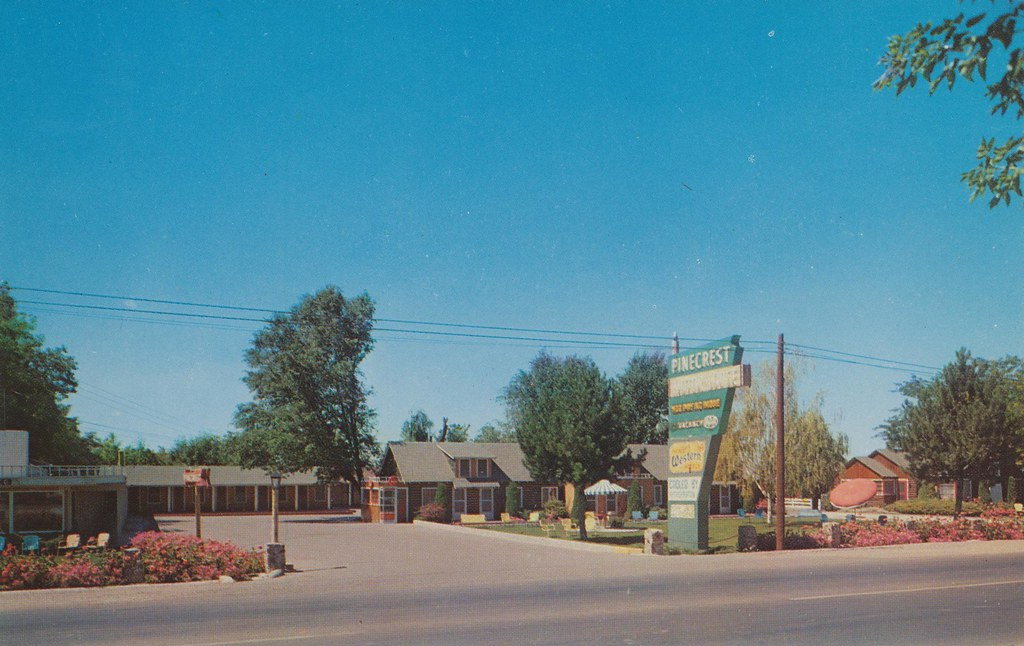 Pinecrest Motor Lodge - Pocatello, Idaho