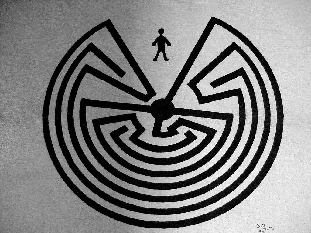 Man In The Maze Garik Asplund Flickr