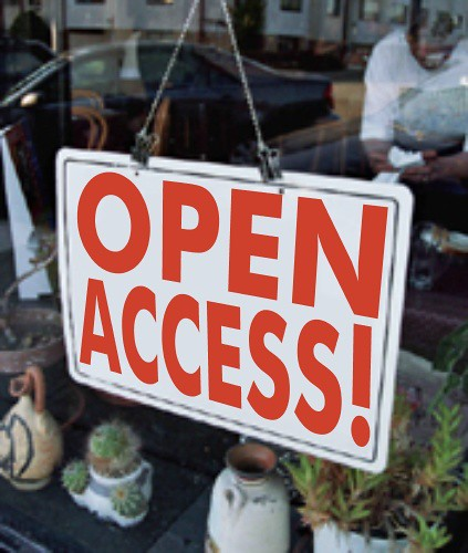 Open Access (storefront) | by Gideon Burton