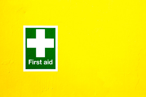 First Aid | by only lines
