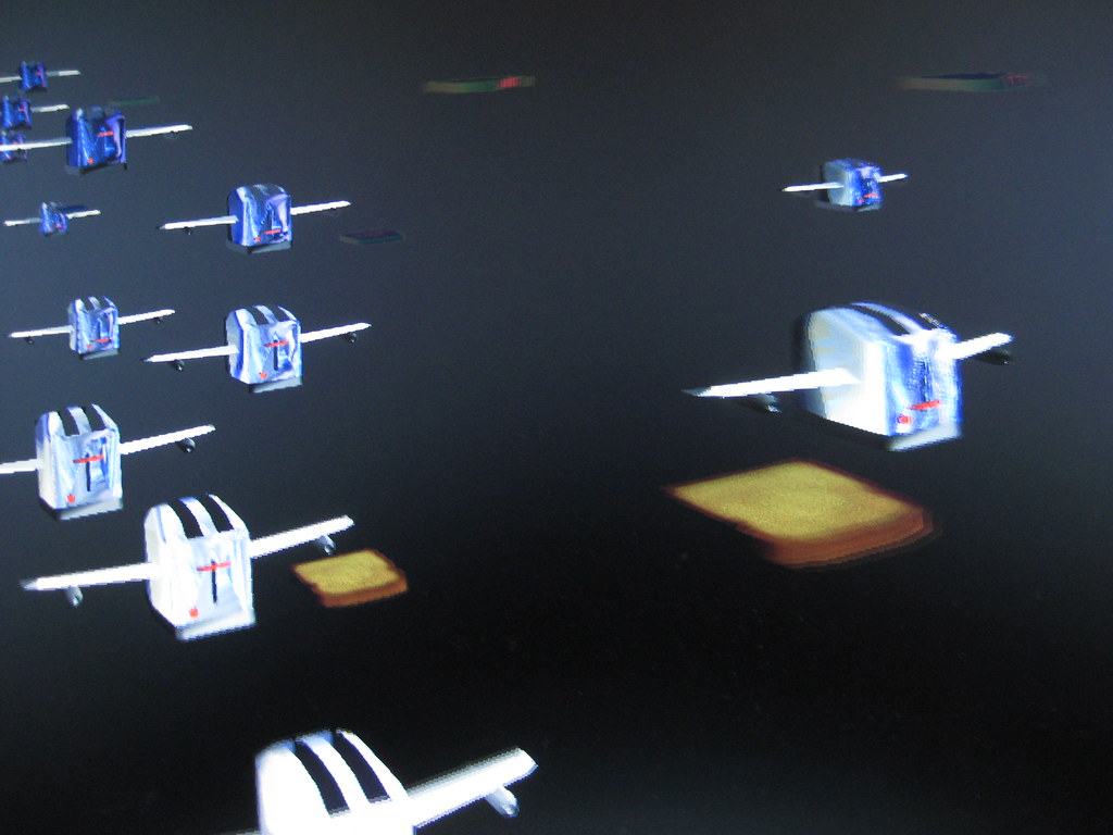 Flying Toasters Screensaver It Exists This Is One Of The Flickr