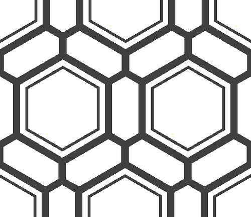 alt hexagon tile | Like it? Would send me some bitcoin as ...