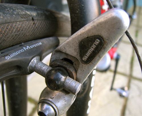 Shimano Brakes Not Enough Room For New Pads