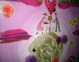 Love is pink...(detail) | by Ruth Tarragano רות טרגנו