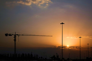 Clouds & Cranes on a Sunrise | by 8rbsuperb
