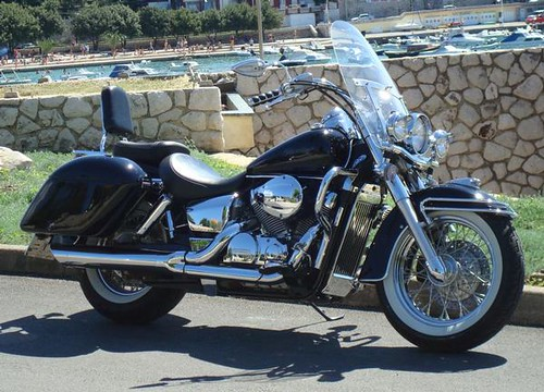 ... 2004 Black Honda Shadow 750 Aero By AeroHR | By Uwe9999