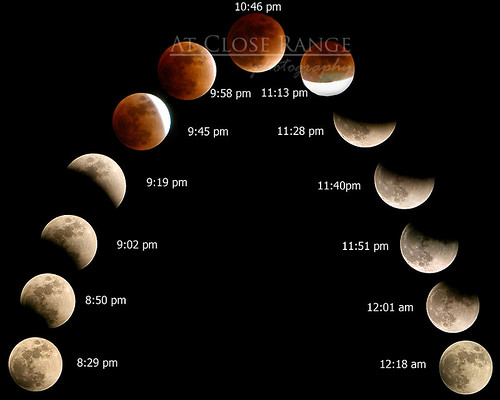 Eclipse Time Sequence | by Regina/acrphoto