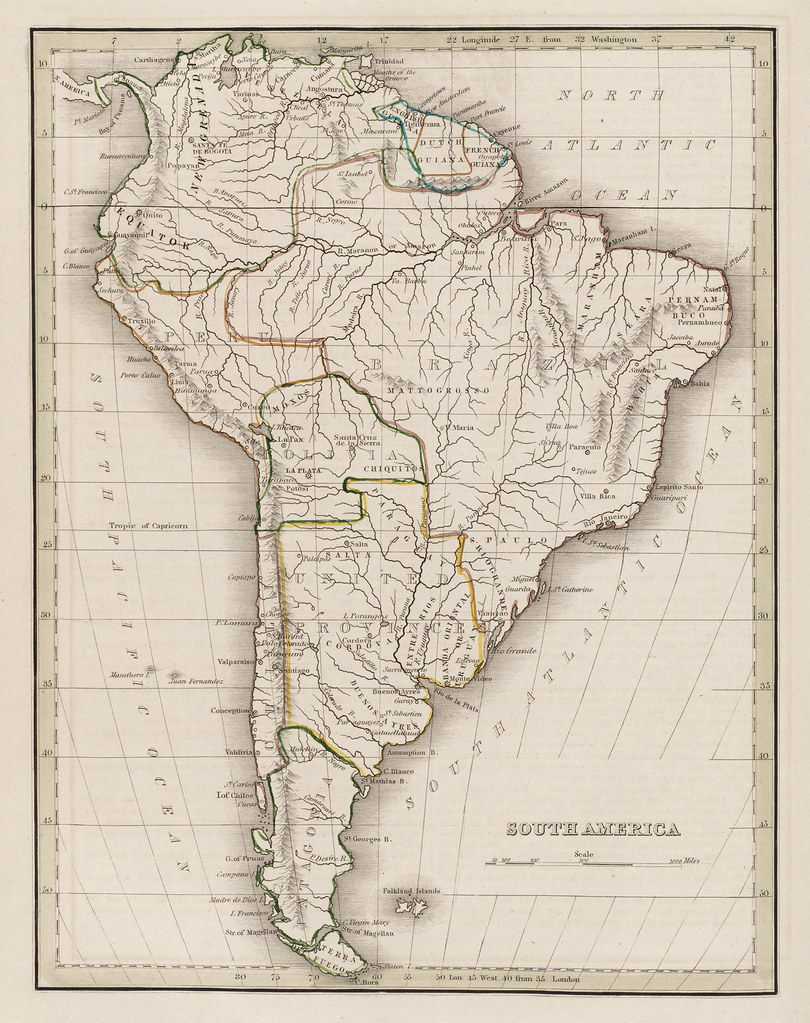 South America | Zoom into this map at maps.bpl.org. Author: … | Flickr