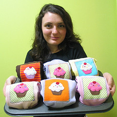 Diana Cupcakes Rodgers of Wonderthreads | by brooklynindiemarket