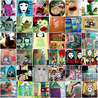 monthly mosaic: JULy 2008 artjunkgirl | by artjunkgirl