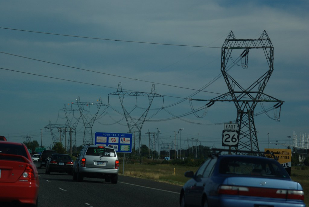 us 26 power lines 500kv power transmission lines along us flickr