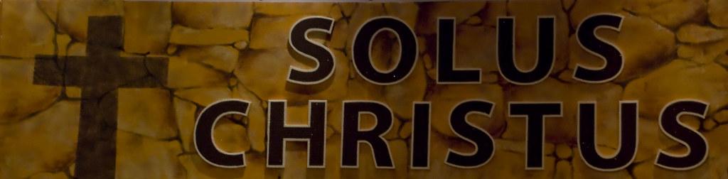 Resultado de imagem para solus christus