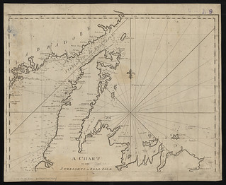 A chart of the streights of Bell Isle | by Norman B. Leventhal Map Center at the BPL