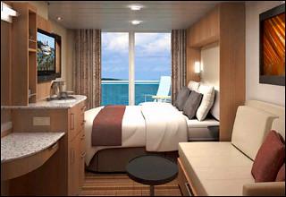 Celebrity Solstice Aqua Class Cabin Same In Size As A
