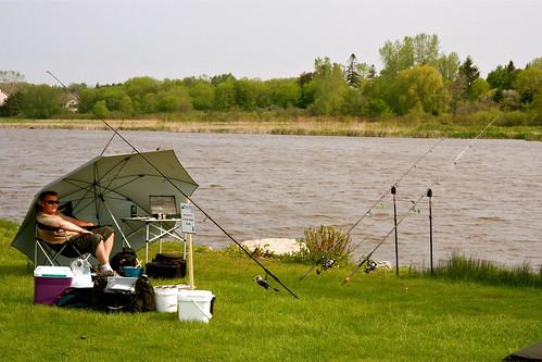 Tournament is under way wisconsin carp fishing for Wisconsin fishing tournaments