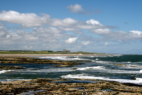 View of Bamburgh Castle | by emms76