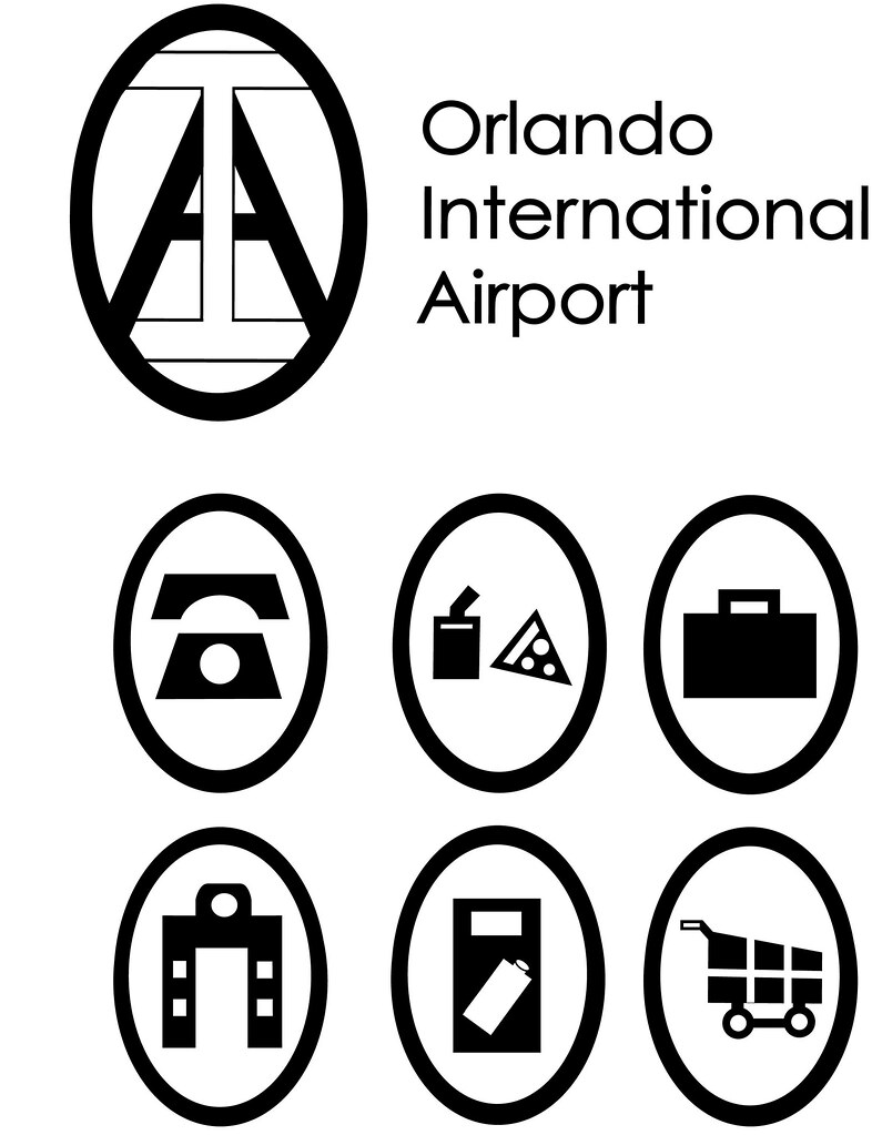 Orlando International Airport Logo And Icon Set For A Phot Flickr