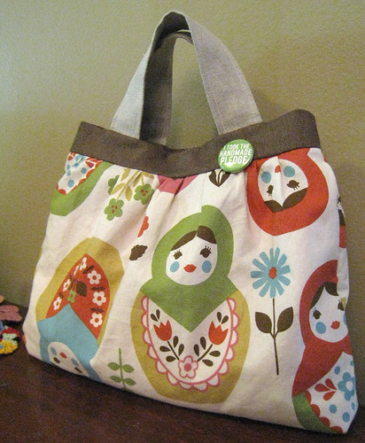 Matryoshka Bag | by crafty bean