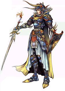 ... Final Fantasy Dissidia   Warrior Of Light (Knight Form) | By M. D