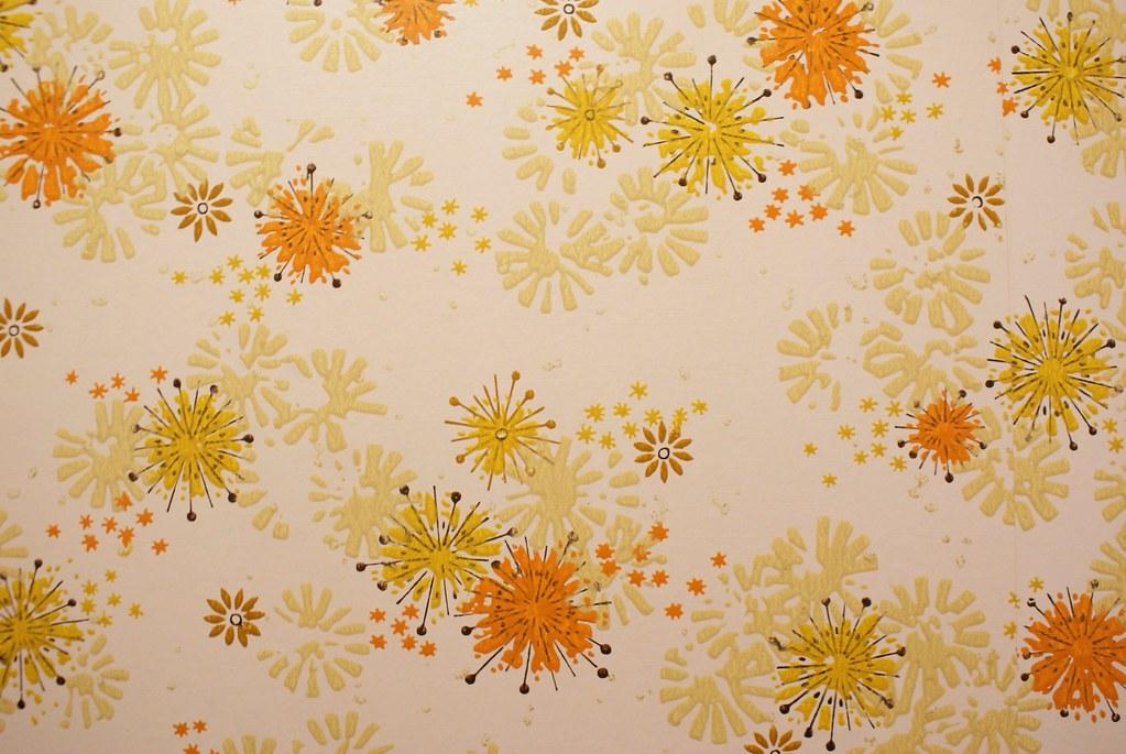 Vintage Wallpaper | Gorgeously vintage 70s wallpaper, discov… | Flickr