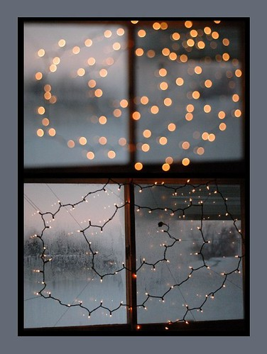(5) Christmas window light diptych | by Jen's Photography