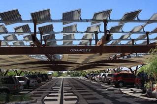 Solar Panels at the Springs Preserve | by J. N. Stuart