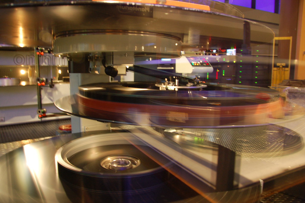 ... Boston Museum of Science: Omni IMAX projector film spool | by Chris  Devers