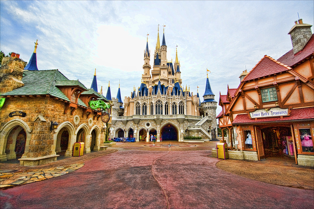 Image result for fantasyland magic kingdom