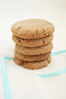 Brown Butter Gingersnaps | by Nook & Pantry