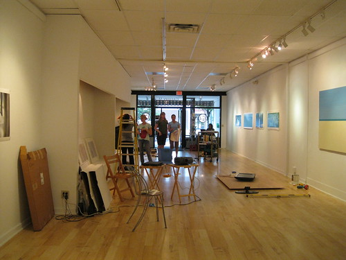 "Installing ""The Grass is Green"" at MCLA Gallery 51 