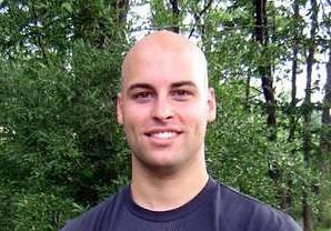 Shaved bald