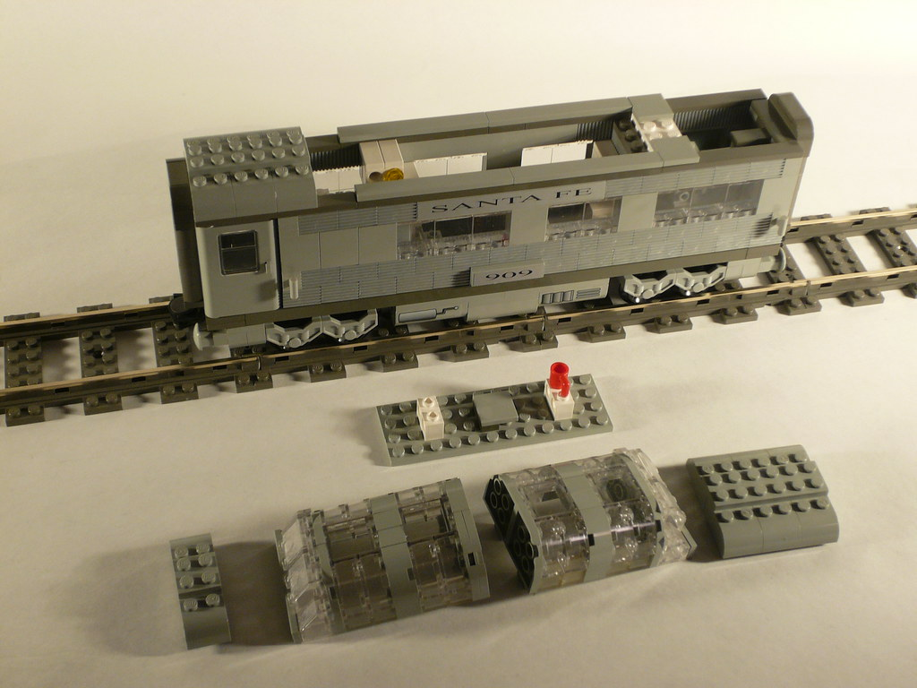 Lego Santa Fe Dome Car James Mathis A Dome Car To Accomp Flickr