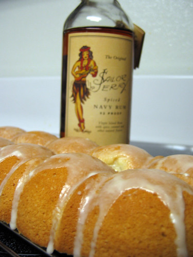 Sailor Jerry Rum Cake