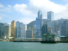 Hong Kong Island from  'Star Ferry' | by thewamphyri