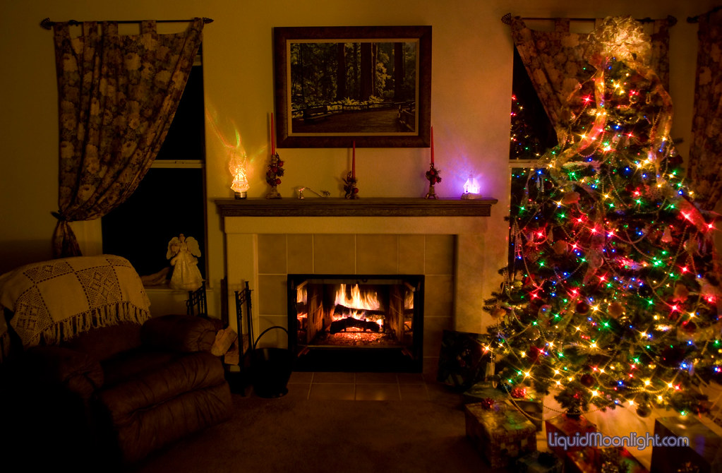 By the Fireplace on Christmas Eve | There is nothing like a … | Flickr